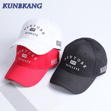 2017 New Fashion Unisex NYC Cotton Cap Men Brand Embroidery New York Baseball Cap Black Women Casual Sun Hat Snapback Caps Red