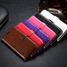 100pcs/lot Crazy Horse Wallet Leather Case For Motorola Moto G5 G4 Plus For Moto G4 Play Droid Turbo 2 For MOTO X Force Z Driod