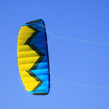 4Sqm Kitesurfing Trainer Kite Quad Line Power Kite Traction Kite For Beginner Adult With 55cm Control Bar Flying Line