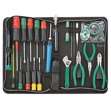 Free PP Brand ProsKit 1PK-813B-1 Basic Electronic Toolkit (220V), Hand Tool Set Screwdriver Pliers Needle File Tools Set