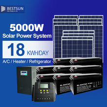 5000W solar kits poly 150W solar power supply for home appliances solar energy products solar generation solar electric system