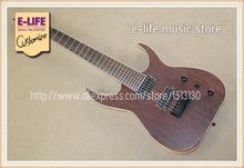 Custom Shop B7 Black Blackmachine 7 Strings Electric Guitar Ash Body China OEM Musical Instruments(China)