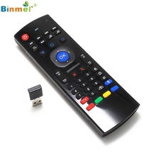 Adroit 2.4G Wireless Remote Control Keyboard Air Mouse For XBMC Android TV Box Mini PC JAN12 drop shipping