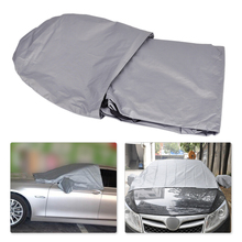 CITALL Grey Car SUV Foldable Windshield Snow Visor Window Ice Frost Dust Cover Protector for Ford Focus BMW E39 Chevrolet Cruze(China)