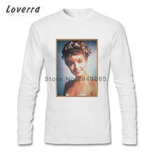 Twin Peaks Laura Palmer T-Shirt Male O-Neck Autumn Fitness Men TShirts Long Sleeve Pure Cotton Crossfit Blouse Tees Shirts Homme(China)