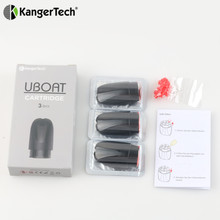 Buy Kangertech Kanger Uboat Cartridge 2ML Capacity Ubota Cartridges Tank E Cigarette Replacement Coil Part Fit Uboat Vape Kit for $4.68 in AliExpress store