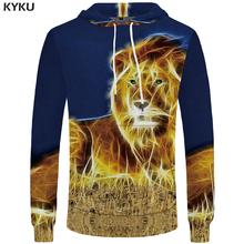Buy KYKU Brand Lion Hoodie Women Oversized Hoodie 3D Hoodies Womens Clothes Hip Hop Clothing Long Sleeve Fashion Sweatshirts 2018 for $14.91 in AliExpress store