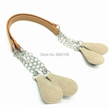 new hot sell design rope hemp 65 cm handbags ears handles for justo bag for OBAG(China)