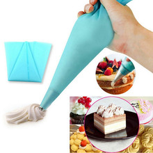 MJ137 Silicone Pastry Cake tool Decorating Cream Icing Piping Bag cozinha Styling Tool Bakery Dessert Baking Kitchen Accessories