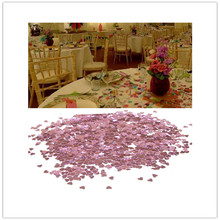 2000PCS Pink Love Heart Table Party Scatters Confetti Christmas Wedding Decoration Valentine Birthday Party Supplies Ornaments