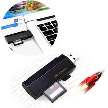hot selling MINI 5Gbps 2in1 USB 3.0 High Speed Micro SD SDXC TF Card Reader Adapter easy for carry very nice(China)