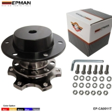 EPMAN - Quick Release Snap Off Hub Adapter fits Car Sport Steering Wheel EP-CA0011