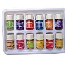 12pcs / lot 3ML Essential Oils Pack for Aromatherapy Spa Bath Massage Skin Care Lavender Oil With 12 Kinds of Fragrance