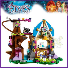 Elvendale Dragon's School 41173 Building Block Model Toys for Children BELA 10501 Compatible Lepin Elves Figure Fairy Set