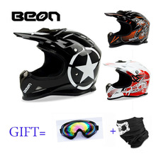 BEON high quality cool motorcycle Adult motocross Off Road Helmet  MTB DH racing helmet cross  Helmet capacetes Dutch Design