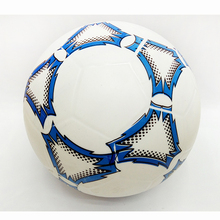 21cm Kids sports Inflatable Toy Plastic Ball Soccer Ball PVC Ball Children Baby Gifts girl and boy gift Blue red printing(China)