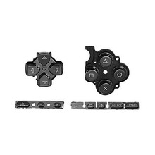 Black Buttons Key PAD Set Repair Replacement for Sony PSP 3000 Slim Console(China)