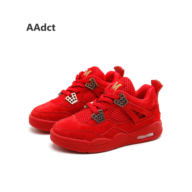 AAdct 2017 fashion children shoes Brand High quality running sports boys shoes sneakers breathable autumn new girls shoes  <br>