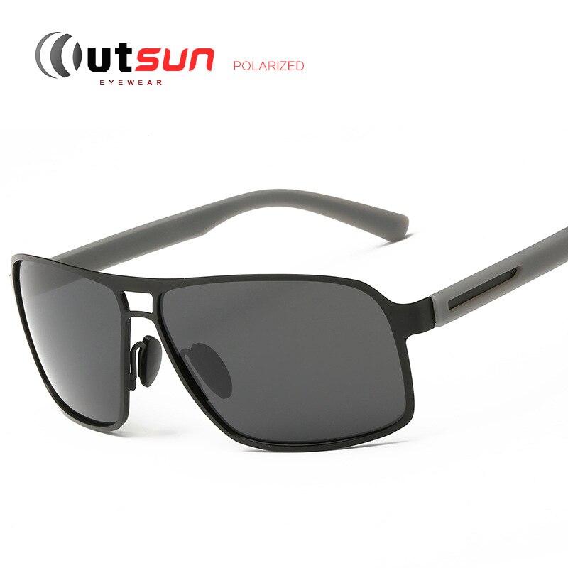 OUTSUN High-End Polarized Sunglasses Men Brand Designer 6 Color Polaroid Sun Glasses Coating Sunglass Hipster Oculos De Sol<br><br>Aliexpress