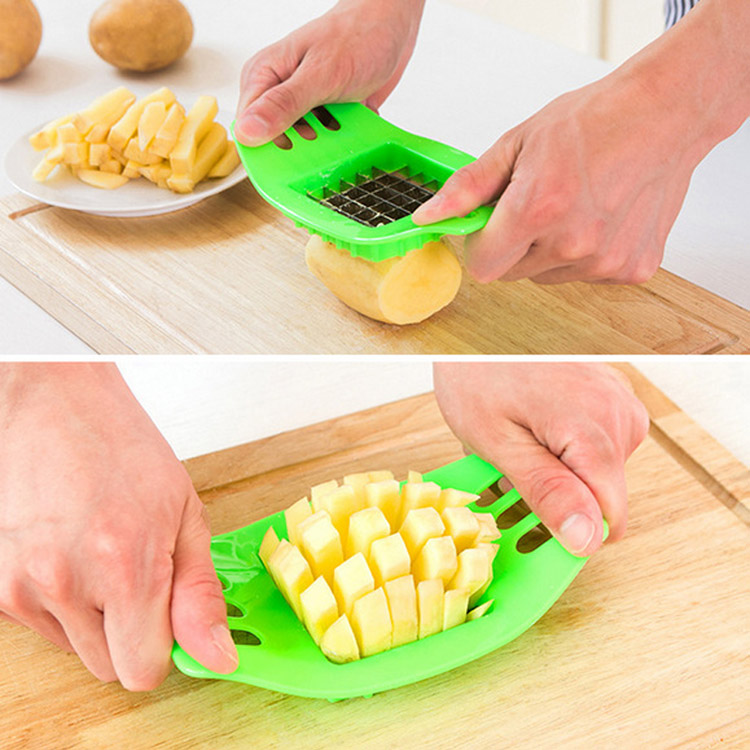 Stainless steel potato cutter