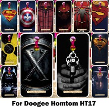 Silicone Phone Case Doogee Homtom HT17 Cases Flexible Soft TPU Back Covers Painting Superman Pattern Cover Shield Hood - WEE 3C Products Store store