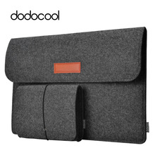 "dodocool 12"" 13"" Laptop Bag Case Felt Sleeve Cover Carrying Case 4 Compartment with Mouse Pouch for Apple 13"" MacBook Air Pro(China)"