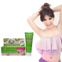 200PCS/lot free DHL Aichun armpit whitening cream underarm whitening cream without pain for Legs knee exfoliating private parts(China)