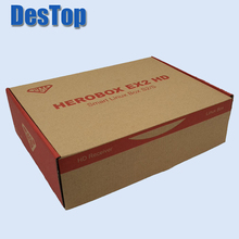 HEROBOX EX2 HD-S2 BCM7362 751MHZ Dual-core HEROBOX EX2 HD DVB-S2 Tuner Tuner DVB-S2/S Linux HD Receiver Satellite Receivers(China)
