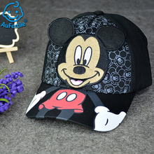 Spring Autumn Baby Cartoon Mickey Mouse Mickey Duck Baby Hat Travel Baseball Caps High Quality Boys Girls Tide Hat Fashion Cap