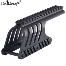 SINAIRSOFT Tactical 20mm Double Rail Mount System Fit For Remington 870 RM870 musket 12 Ga. Scope(China)