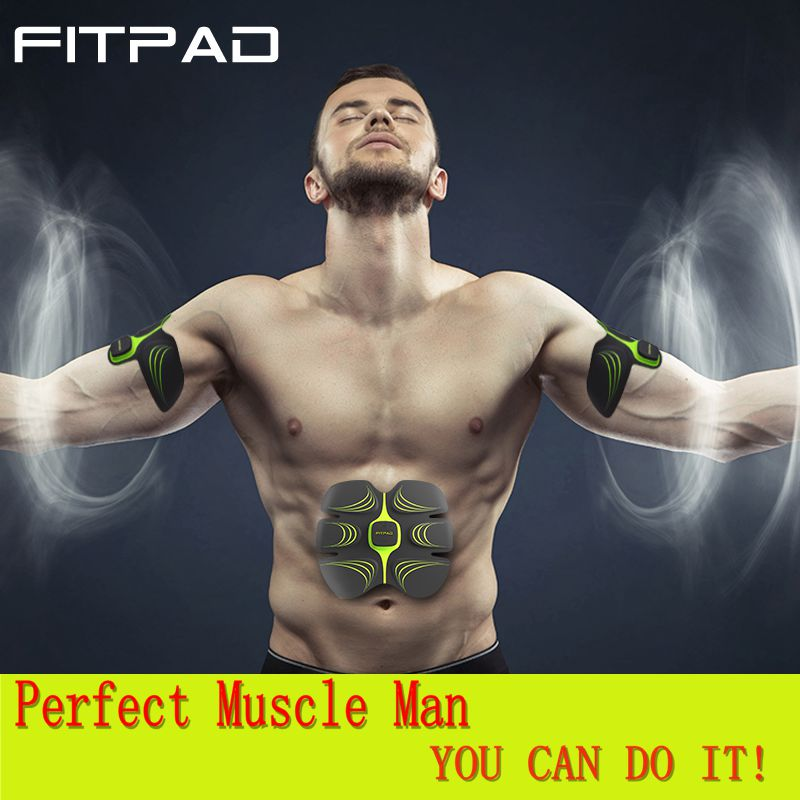 On Tv FITPAD CR8 Fit Muscle Stimulator Massage Muscle Training Equipment  Workout Training Electro Fitness Massager Slimming<br><br>Aliexpress