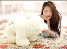 45 cm white polar bear plush toy doll birthday , girlfriend gift w5468