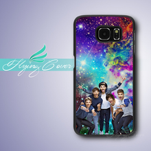 Coque Nebula One Direction Phone Cases for Samsung Galaxy S3 S4 S5 S6 S7 Edge Plus Case for Samsung Galaxy Note 7 5 4 3 Case.(China)