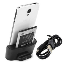 Dual Sync Data Battery Charger Charging Cradle Dock + USB to Micro USB for Samsung Galaxy Note 3 N9000 N9002 N9005 N9006 N9009(China)