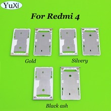 YuXi Nano SIM/ Micro SIM Card Tray Holder Micro SD Card Slot Holder Adapter for Xiaomi for Redmi 4 2G/16G