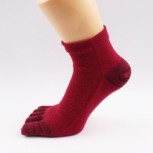 Men Socks 5 Pairs High Quality Cotton 5 Fingers Toe Breathable Ankle Socks Warm Winter Socks For Men Sox For Wholesale YS-BOC114