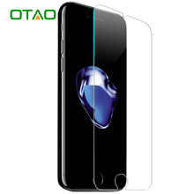 OTAO For Apple iPhone 6 6S Plus 5 5S 5C SE 4 4S Tempered Glass Screen Protector 9H Anti-Scratch Film HD Protective Guard Glass