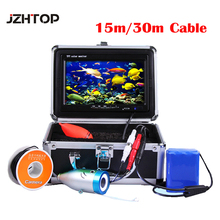 "Professional DVR Fish Finder Underwater Fishing Video Camera 7"" Color LCD HD Monitor 1200tvl 30M Cable Length 8GB SD Card(China)"