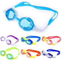 Colorful Adjustable Children Kids Waterproof Silicone Anti Fog UV Shield Swimming Glasses Goggles Eyewear Eyeglasses