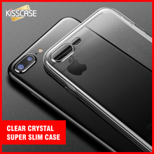 For iPhone 5s Case Clear Crystal Slim Cases For iPhone 7 6 6s Plus 5S 5 SE Soft Silicone Acrylic Cover For iPhone 5 6 6S 7 Plus