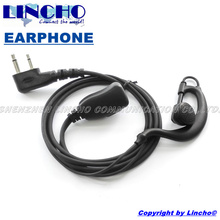 Radio Earpiece Earphone Mic for Icom Walkie Talkie IC-F3 IC-F3GS IC-F4 IC-F4S IC-F11 IC-11S IC-F14