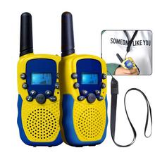 PKR 2,617.16  36%OFF | 2Pcs/Lot Children Outdoor Electronic Interphone Novelty Kids Toys Watch Walkie-talkie Intercom Gifts Toy(Europe Frequency)