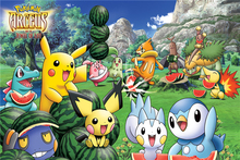 New Anime Pokemon Go Wallpapers Custom Canvas Pocket Monster Posters Pokemon Pikachu Wall Stickers Kids Home Decor #PN#353#