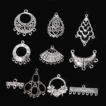 High Quality Zinc Alloy Silver Plated Maitreya Round Charm Pendants 20-60pcs/bag For DIY Jewelry Finding(China)