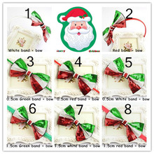 Wholesales 180pcs/lot 15CM Embroidered Sequins Bowknot Kids Hair Clasp & Girls Headbands/ Hairbows Christmas Accessories  FDA102