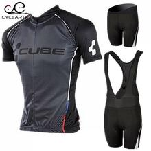 2016 Brand Pro Team Cube Cycling Jersey Ropa Ciclismo Quick-Dry Sports Jersey Cycling Clothing cycle bicycle Wear pro Jersey