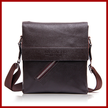 famous brand Italian design top leather men bag,leisure business cowhide leather men messenger bags,new retro men's travel bags(China)