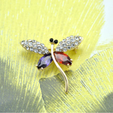 Fly Spark Dragonfly Broches Broaches Scarf Clip Hat Accessories Graceful Hijab Pins Bijoux Wonmen Wedding 2015 Pins Summer Style