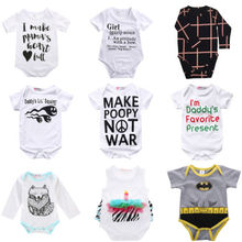 Wholesale!Drop Shopping!Baby Clothing  Bodysuits Newborn Kids Baby Boy Girls Cotton Jumpsuit Playsuit Clothes Outfits Hot