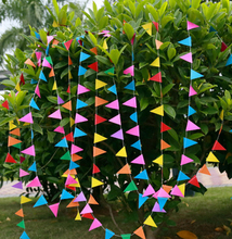 200pcs Long  Paper Garland Ornaments Curtain Wall Pop Disc Holiday Party Wedding Room Classroom Decor Wall Decorations